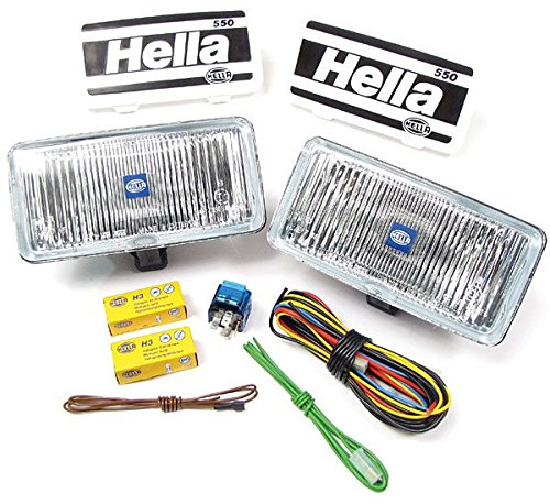 Hella 74506 Clear 550 Series Fog Light Kit