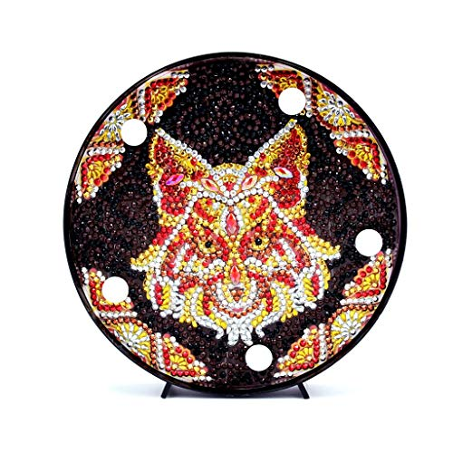 DIY Diamond Painting Lamp Round Diamond Full Drill Lamp Animal Embroidery Full Dedicated Diamond LED Light -