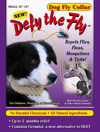 "Defy the Fly Dog Fly Collar - 13"" to 16"""