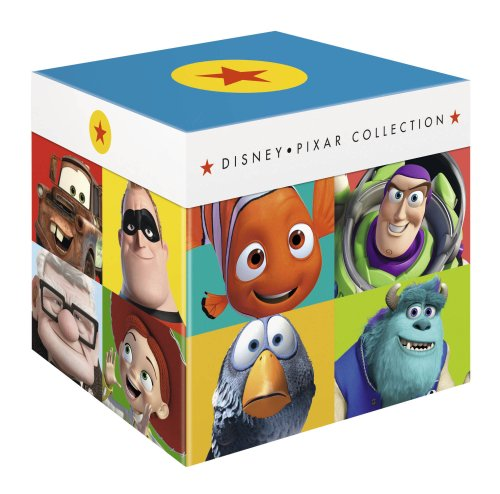 Disney Pixar Collection - 17-Disc Box Set ( Toy Story / A Bug's Life / Toy Story 2 / Monsters, Inc. / Finding Nemo / The Incredibles / Cars / Ratatouille / WALL*E / Up / Toy Story [ Blu-Ray, Reg.A/B/C Import - United Kingdom ]