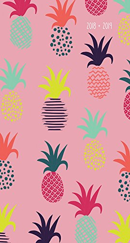 2018-2019 Pineapples 2-Year Pocket Planner