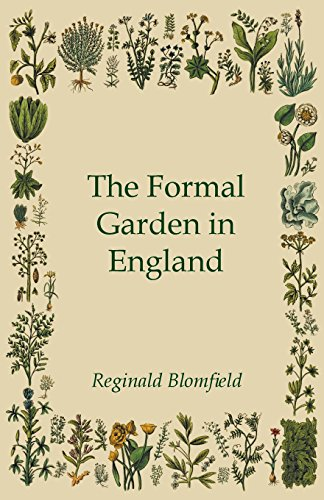 Cheap  The Formal Garden in England