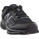 New Balance Men's 410v6 Trail Running Shoe, Black/Castlerock/Dark Silver, 12 D US