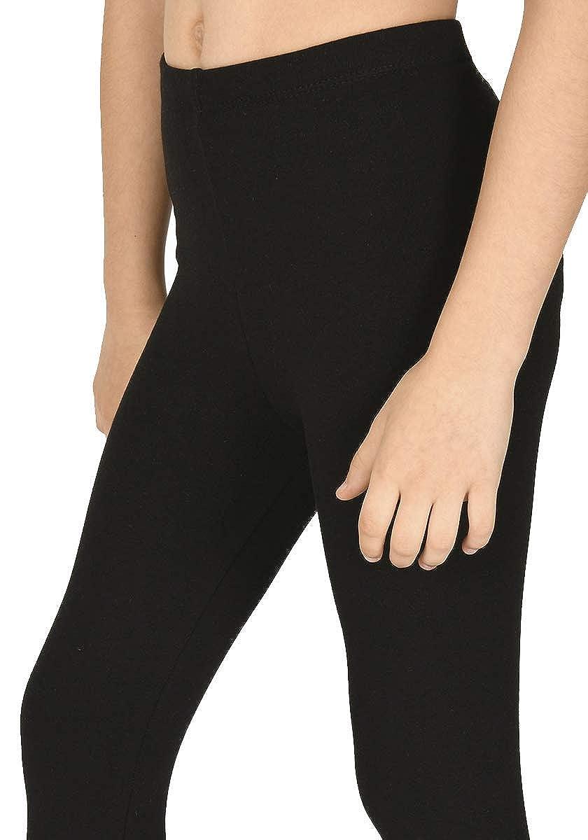 et/à 3-13 anni leggings sportivi per ragazze elasticizzati vari colori disponibili Pretty Fashion leggings per bambine a lunghezza intera