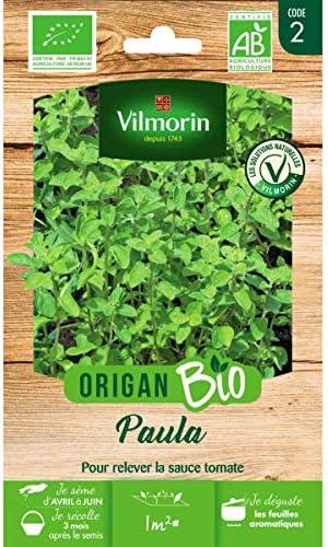 Origanum vulgare Vilmorin Sachet graines Origan Paula Bio