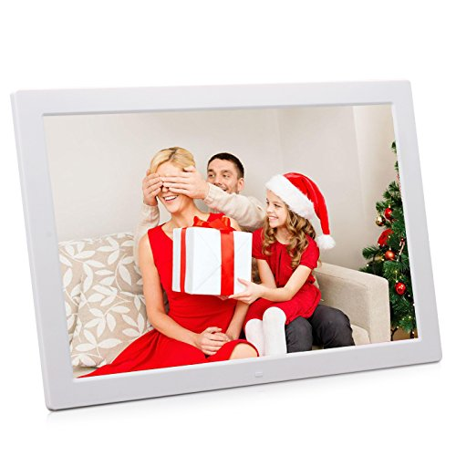 17 inch LED Digital Photo Picture Frame, AKImart High Resolution 1440×900 Widescreen 1080P Wall Mountable with Remote Control by AKImart