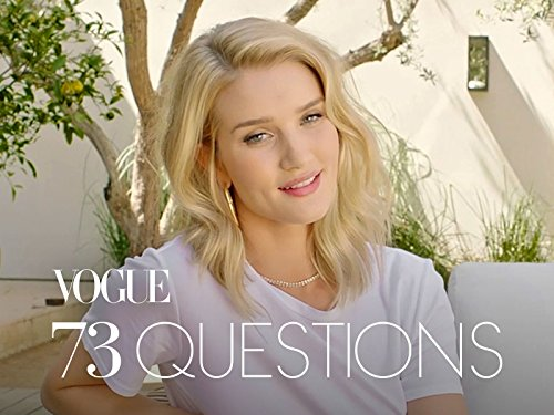 73 Questions With Rosie Huntington Whiteley