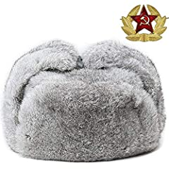 It is made of real rabbit fur, no matter you hunting, skiing or do some other outdoor sports, it will keep your head continuous warm, because it is made of real fur.