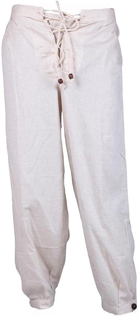 BARES - Pantalón para Disfraz de Pirata caribeña Unisex, Color ...