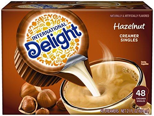 International Delight Hazelnut Single Serve Creamers