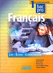 Français, 1re pro, 2000