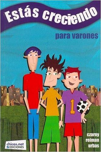 Book Estas Creciendo - Para Varones