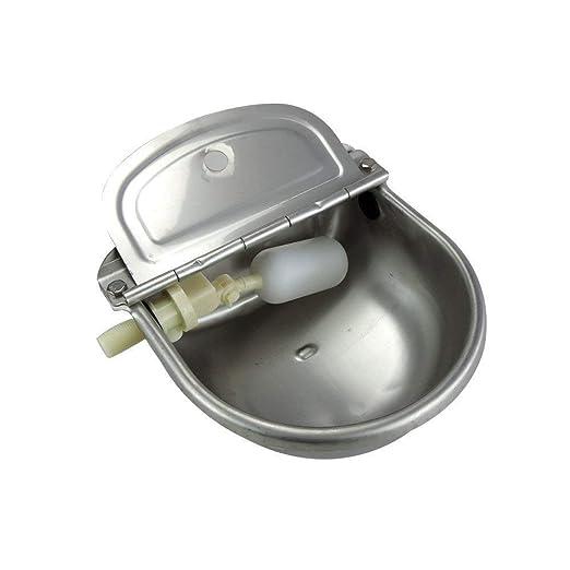ADDG Fuente de Acero Inoxidable para Beber Agua de Ganado ...
