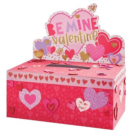 Valentine's Day Mailbox Decorating Kit Hearts