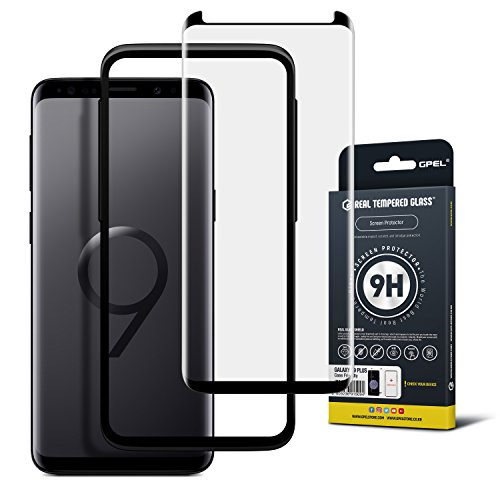 Galaxy S9 Plus Tempered Glass Screen Protector Guard [Case Friendly] for Samsung Galaxy S9 Plus (2018)