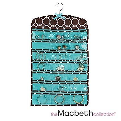 Amazoncom Macbeth collection Jewelry organizer zippered 42 pockets