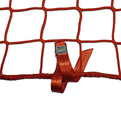 2 x 10m, gr/ün Seitenschutznetz Dachdeckerfangnetz mit angen/ähten GSV