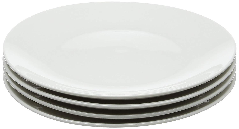Coupe Style White 15 cm Maxwell Williams White Basics Side Plates Set of 4 Porcelain
