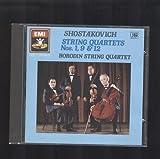 Shostakovich: String Quartets Nos. 1, 9 & 12