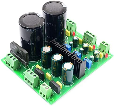 Semoic Rectifier Filter Power Board LM317 LM337 Multi-Channel Adjustable Rectifier Regulator Filter Power Module for Amplifiers