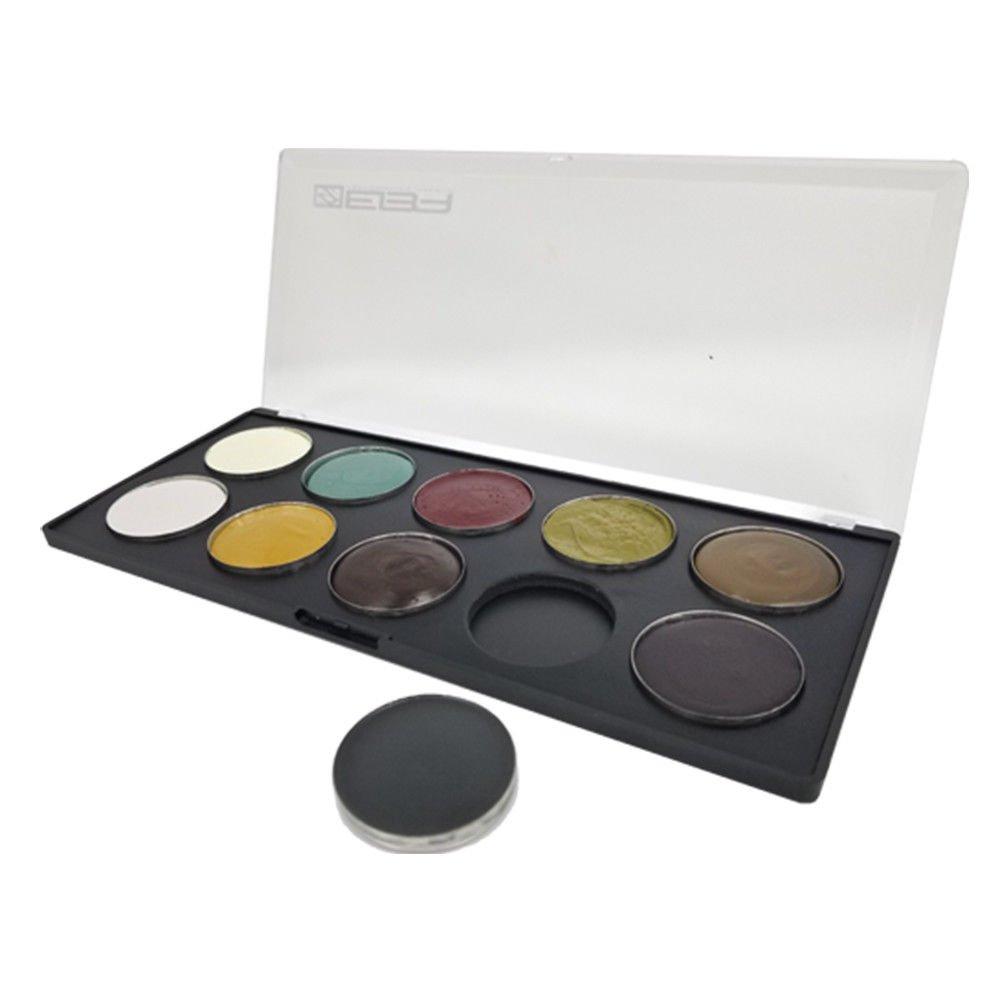 European Body Art EVO Quick Drying Cream SFX Professional Makeup Palette, Undead by European Body Art