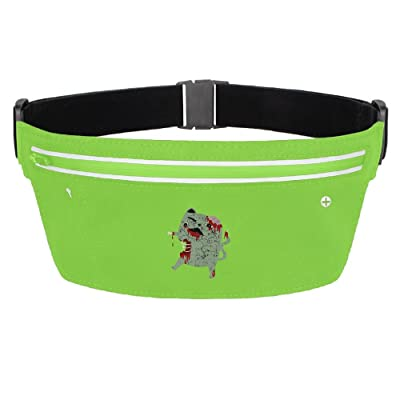 Zombie Cat Travel Pocket Fanny Pack Waist Bag Stealth Running Bum Bags