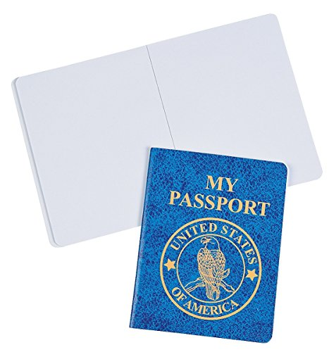 Passport Notepads (24 Pack) 3 1/2