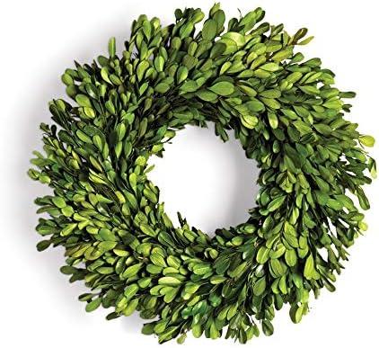 Napa Home /& Garden Boxwood LB Wreath 14