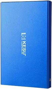 ACHICOO 外付けハードドライブ 超薄型 外付けHDD ポータブルハードディスク ストレージ USB3.0 USB2.0 2.5インチ HDD 耐震 耐衝撃 モバイル ハードディスク 青いUSB 3.0
