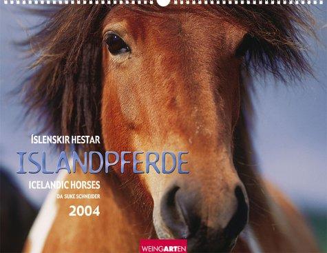 Islandpferde 2004. Fotokalender