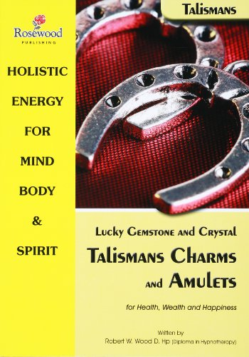 Charm Amulet Gemstone - Lucky gemstone and Crystal Talismans charms and Amulets for Health, Wealth and Happiness (Power for life Book 9)