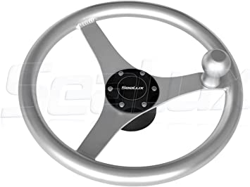 Custom 13 1//2 Inch Boat Steering Wheel