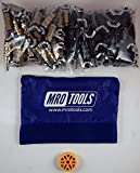 50 3/16 & 50 5/32 Standard Wing-Nut Cleco Fastener HBHT Tool & Bag (KWN4S100-4)