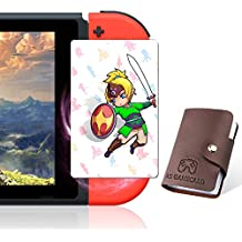 [NEWEST VERSION] TPLGO 24 pcs NFC Cards with Holer for the Legend of Zelda Breath of the Wild Botw Switch/Switch Lite/Wii U with New Card for Link's Awakening
