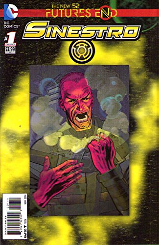 Sinestro Futures End #1 (3D Cover)
