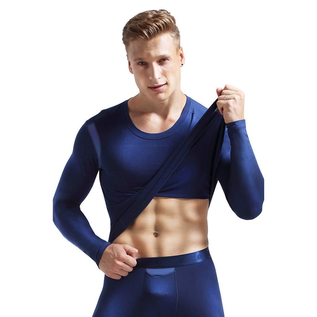 STRIR Camiseta T/érmica Manga Larga para Hombre Ropa Interior de Manga Larga Transpirable Midweight Stretch