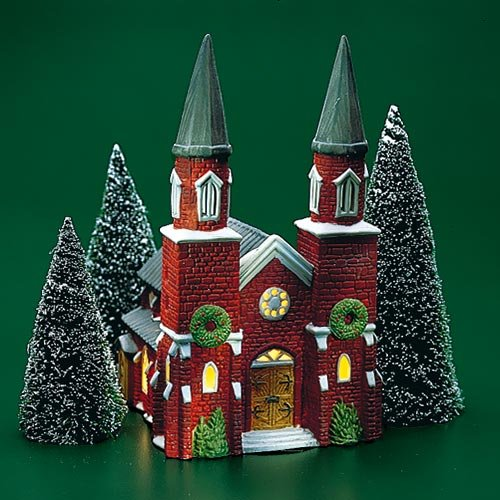 DEPT 56 DICKENS VILLAGE BRICK ABBEY RETIRED #65498 MINT