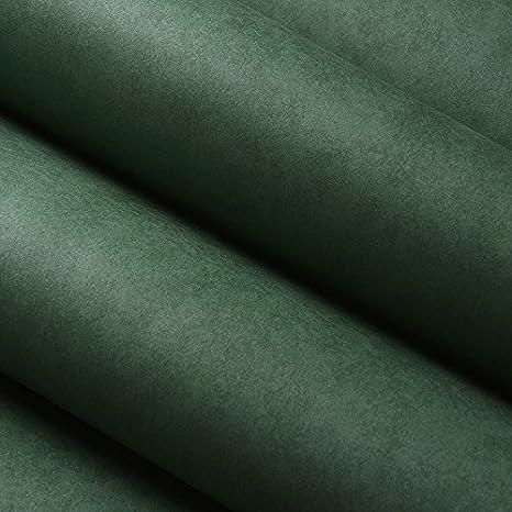 Wymbs Sfondo Di Carta Da Parati Tinta Unita Verde Scuro Spessore Non
