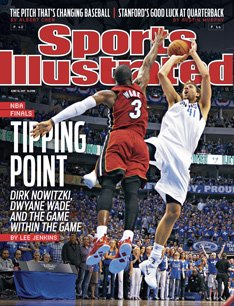 Sports Illustrated June 13, 2011 Tipping Point 2011 NBA Finals Dirk Nowitzki Dallas Mavericks & Dwyane Wade Miami Heat on cover (Finals Nba 2011)