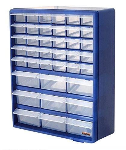 39 Drawer Organiser Storage Unit Ideal For Garage Or Workshop