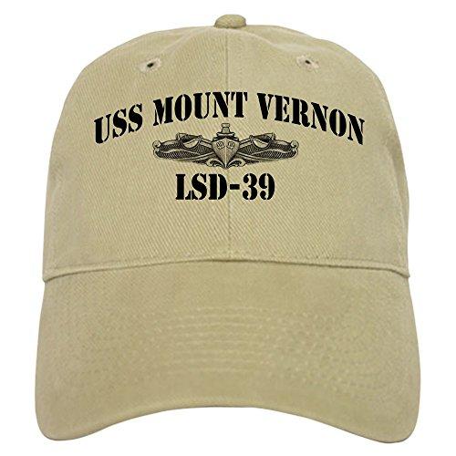 Mount Present Vernon - CafePress - USS MOUNT VERNON Cap - Baseball Cap with Adjustable Closure, Unique Printed Baseball Hat