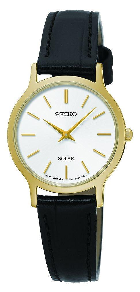 2aad62dd360 Seiko Solar White Dial Ladies Watch SUP300  Seiko  Amazon.ca  Watches