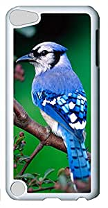 iPod Touch 5 Cases & Covers - Blue Bird PC Custom Soft Case Cover Protector for iPod Touch 5 - White