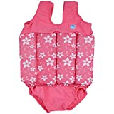 Splash About Collections Float Suit - Adjustable Buoyancy, 1-6 Years ( 1-2 Years (Chest: 51cm   Length: 37cm)), Pink Blossom