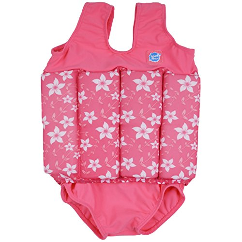 [Splash About Collections Float Suit - Adjustable Buoyancy, 1-6 Years ( 1-2 Years (Chest: 51cm   Length: 37cm)), Pink] (Baby Blossom Costume)