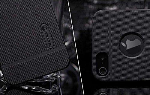Apple iPhone SE 5 5S Nillkin Hard Case Premium Frosted Shield Schutz Hülle Schwarz