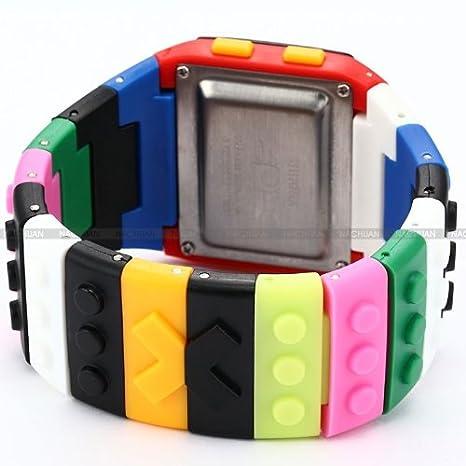 Amazon.com: Shhors arco iris bloques de construcción led ...