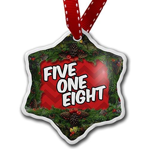 Christmas Ornament 518 Albany, NY red - Neonblond (Albany Ny Christmas Tree)
