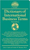 Dictionary of International Business Terms (Barron's Business Guides)