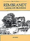 Rembrandt Landscape Drawings, Rembrandt Harmensz Van Rijn, 0486241602
